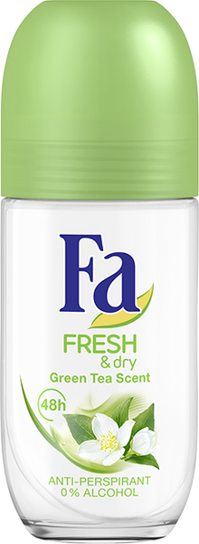 Fa roll-on Fresh & Dry Green Tea  50ml