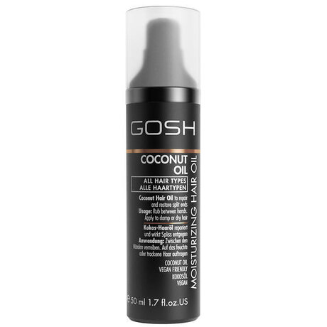 Gosh Coconut Oil Moisturizing Hair Oil 50мл.