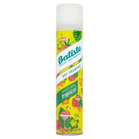 Batiste Dry Shampoo Coconut & Exotic Tropical Сух шампоан 200мл.