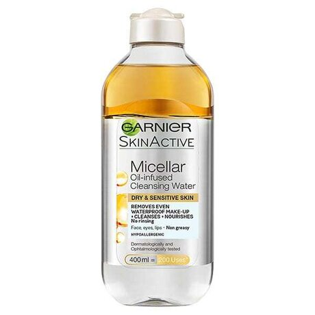 Garnier Skin Naturals Biphase Micellar Cleancing Water in Oi Мицеларна вода 400мл.