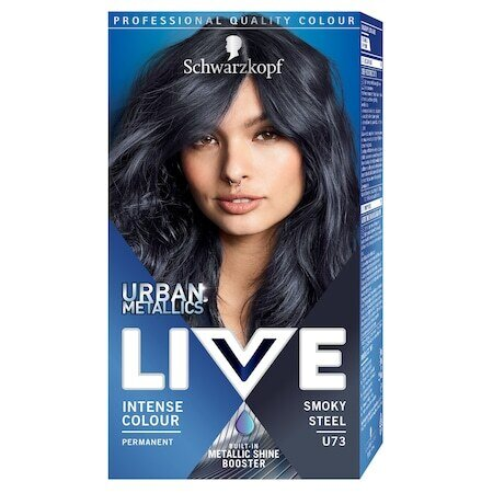 LIVE Color Urban Metallics U73 Smoky Steel Боя за коса