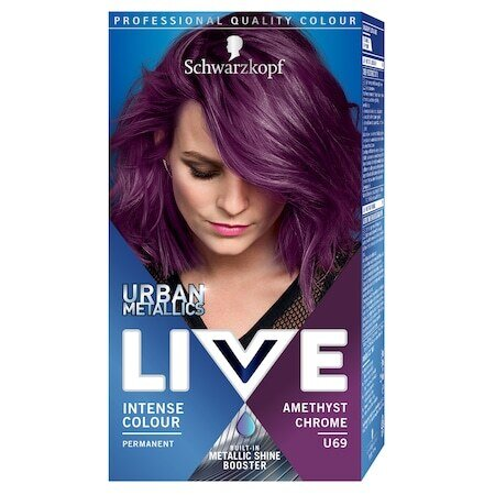 LIVE Color Urban Metallics U69 Amethyst Chrome Боя за коса