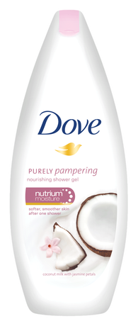 DOVE purely pampering подхранващ душ гел 250мл