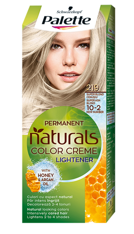 Palette Natural Colors 219 Super Ash Blond