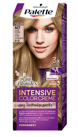 Palette Intensive Color Creme N7 Light Blond