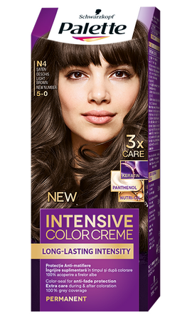 Palette Intensive Color Creme N4 Light Brown