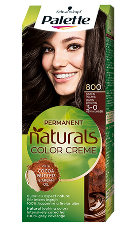 Palette Natural Colors 800 Dark Brown
