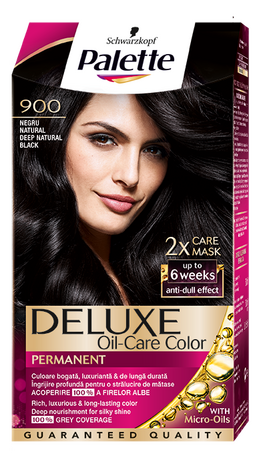 Palette Deluxe 900 Deep Natural Black