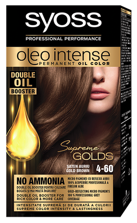 Syoss Oleo Intense 4-60 Gold Brown