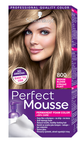 Perfect Mousse 800 Medium Blond