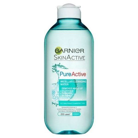 Garnier Pure Active Micellar Cleansing Water Мицеларна вода за мазна кожа 400мл.