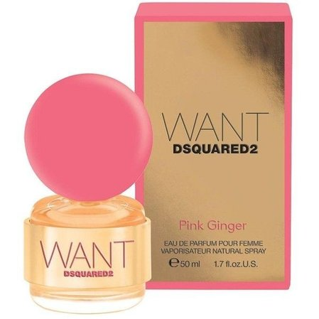 Dsquared Want Pink Ginger EDP 50мл.