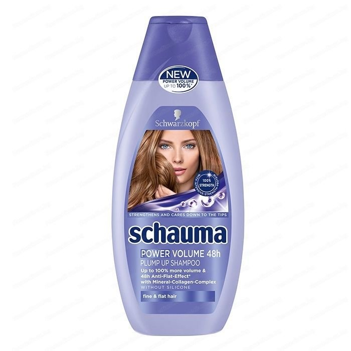 Schauma Power Volume 48h Shampoo 250мл.